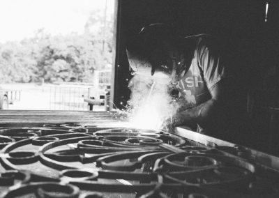 Rusty welding